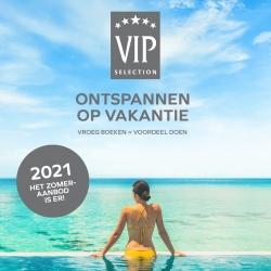 Vroegboeken zomer '21 - VIP