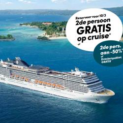 image: 2de persoon gratis op cruise